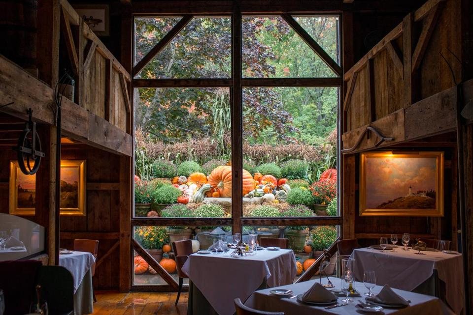 at play in the fields of the rich the boston globethe white barn inn restaurant